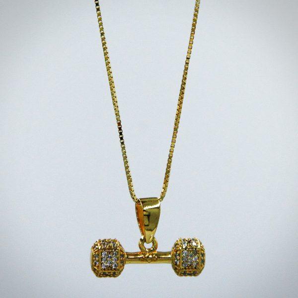 Dumbbell Gold 1