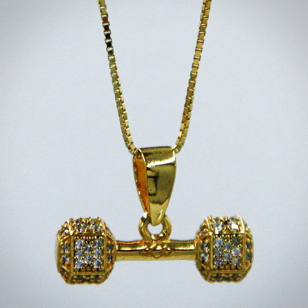 Dumbbell Gold 1 BIG
