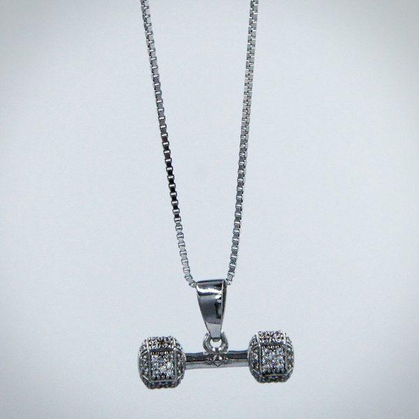 Dumbbell Silver 1